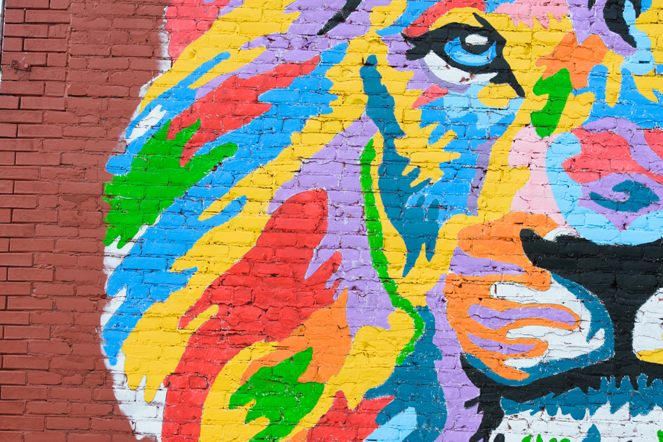 saginaw lion mural painting-005